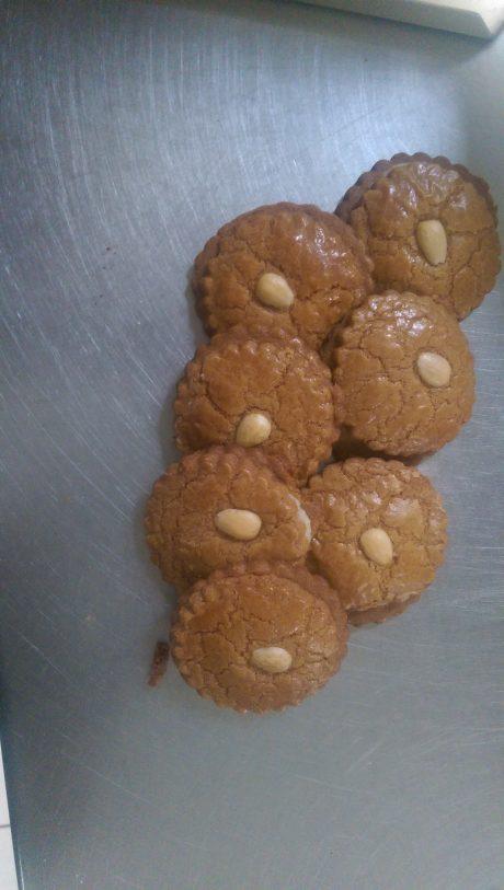 Gevulde koekjes €0,65